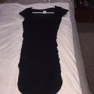Body central black cocktail dress